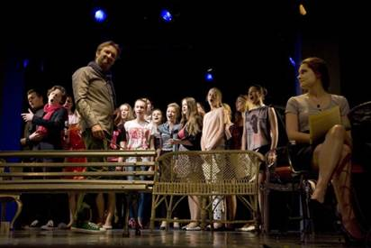 Warsztaty teatralne dla młodzieży 15 - 20 II 2016