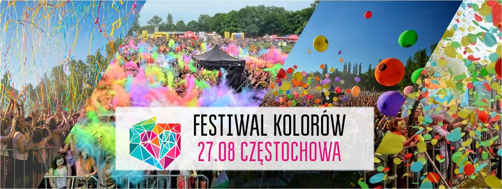FESTIWAL KOLORÓW W CZĘSTOCHOWIE - 27.08.2017