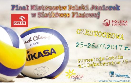 Finał Mistrzostw Polski Juniorek w Siatkówce Plażowej - 25-26.07.2017