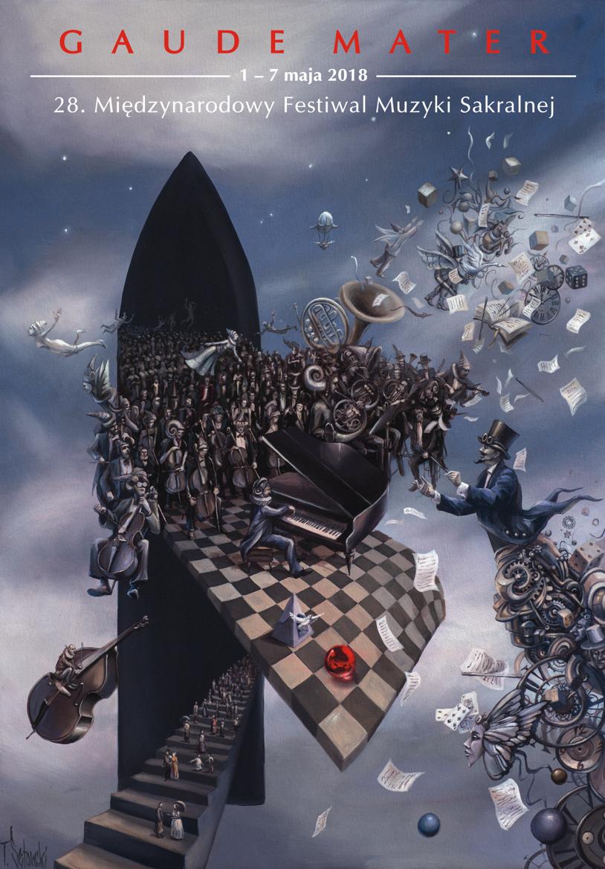 """28. Międzynarodowy Festiwal Muzyki Sakralnej """"Gaude Mater"""" 1-7 maja 2018"""